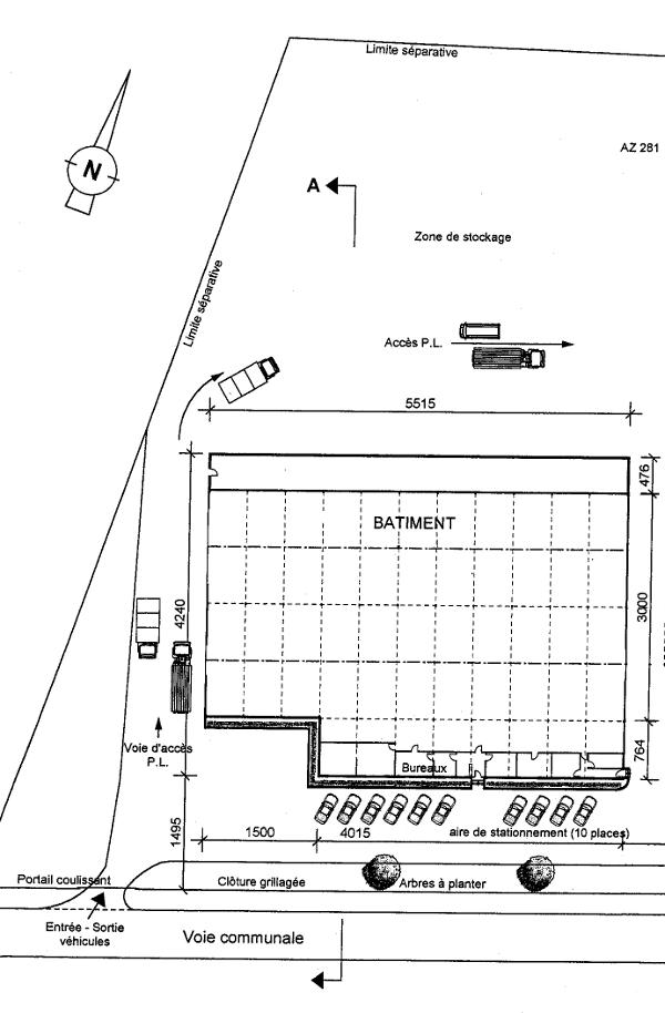 Plan au sol
